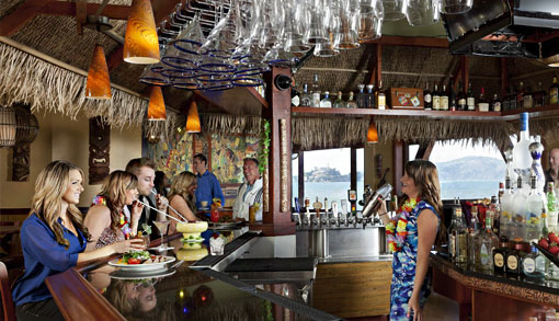 Luau Lounge Tiki Bar America S Cup Specialty